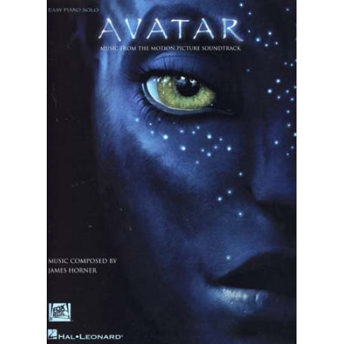 HAL LEONARD AVATAR MUSIC FROM THE MOTION PICTURE SOUNDTRACK - EASY PIANO SOLO