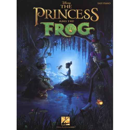 HAL LEONARD THE PRINCESS AND THE FROG FILM EASY - PIANO SOLO