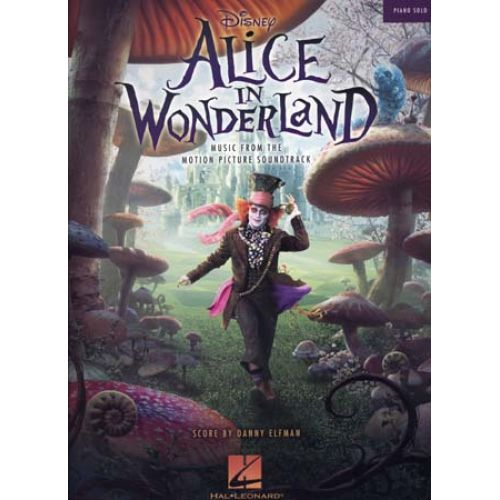 HAL LEONARD ELFMAN DANNY - DISNEY ALICE IN WONDERLAND - PIANO