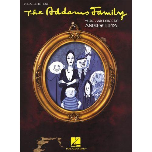 HAL LEONARD ANDREW LIPPA - THE ADDAMS FAMILY - PVG