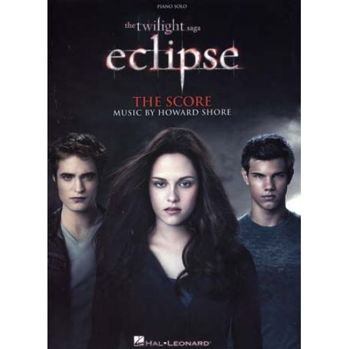 HAL LEONARD TWILIGHT SAGA ECLIPSE PIANO SOLO