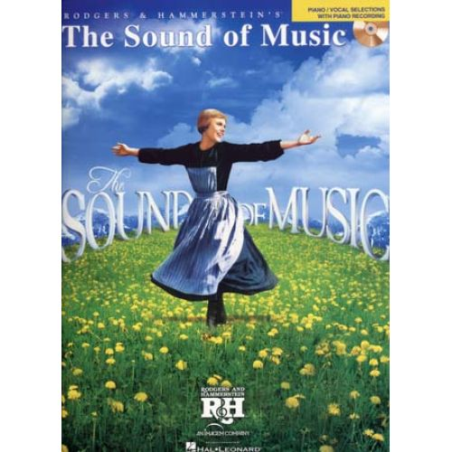 HAL LEONARD SOUND OF MUSIC DELUXE - VOCAL SELECTIONS + CD - PIANO ET CHANT