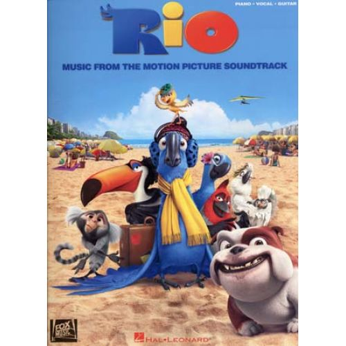 HAL LEONARD RIO MUSIC FROM THE MOTION PICTURE SOUNDTRACK - PVG