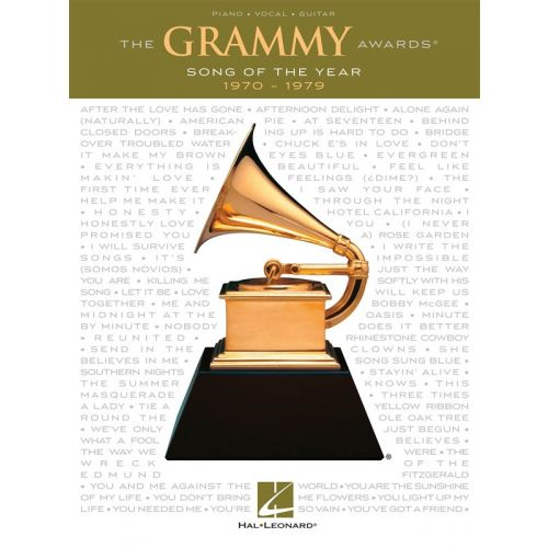 HAL LEONARD GRAMMY AWARDS SONG OF THE YEAR 1970-1979 - PVG