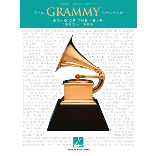 HAL LEONARD GRAMMY AWARDS SONG OF THE YEAR 1980-1989 - PVG