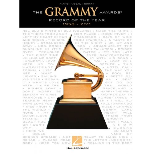 HAL LEONARD GRAMMY AWARDS RECORD OF THE YEAR 1958-2011 - PVG