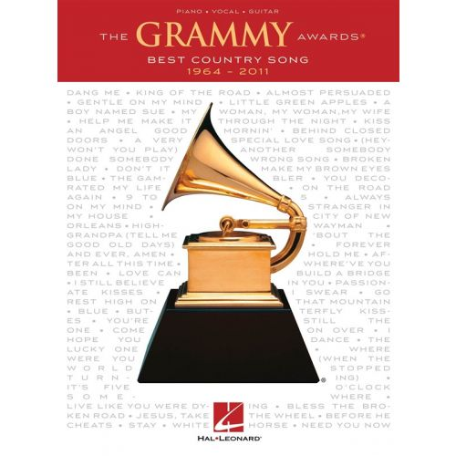 HAL LEONARD GRAMMY AWARDS BEST COUNTRY SONG 1964-2011 - PVG