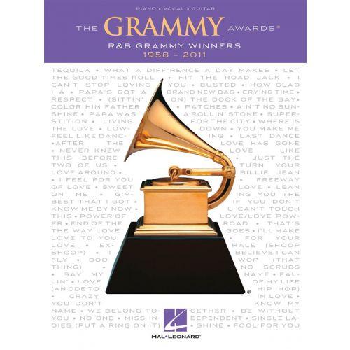 HAL LEONARD GRAMMY AWARDS BEST R&B SONG 1958-2011 - PVG