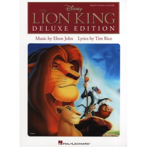 HAL LEONARD JOHN ELTON AND RICE TIM THE LION KING DELUXE EDITION - PVG