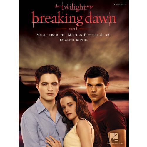 HAL LEONARD BURWELL CARTER TWILIGHT BREAKING DAWN PART 1 PIANO SOLO - PIANO SOLO
