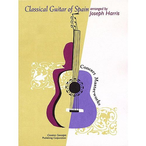 HAL LEONARD CLASSICAL GUITAR OF SPAIN - GUITAR