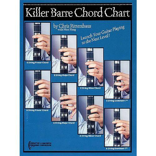 HAL LEONARD KILLER BARRE CHORD CHART - GUITAR