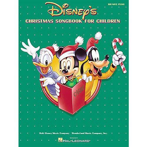 HAL LEONARD DISNEY - CHRISTMAS SONGBOOK CHILDREN BIG NOTE