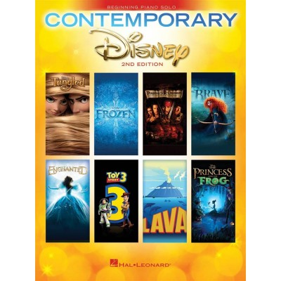 HAL LEONARD CONTEMPORARY DISNEY SOLOS - PIANO SOLO