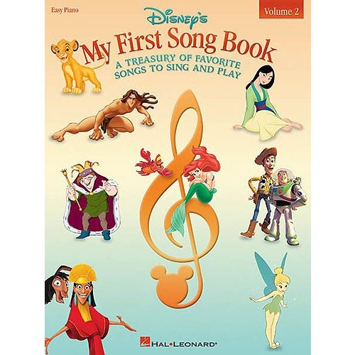 HAL LEONARD DISNEY - MY FIRST SONG BOOK VOL.2 - EASY PIANO