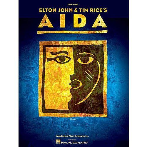 HAL LEONARD ELTON JOHN AND TIM RICE - AIDA - PVG