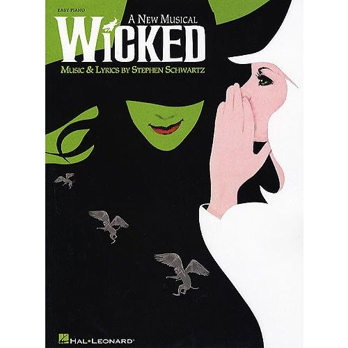 HAL LEONARD WICKED - EASY PIANO SELECTION - A NEW MUSICAL - PIANO SOLO