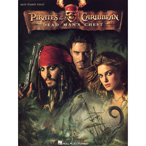 HAL LEONARD PIRATES OF THE CARIBBEAN DEAD MAN'S CHEST - PIANO SOLO