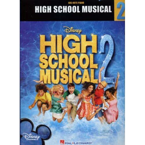 HAL LEONARD DISNEY - HIGH SCHOOL MUSICAL 2 - PIANO