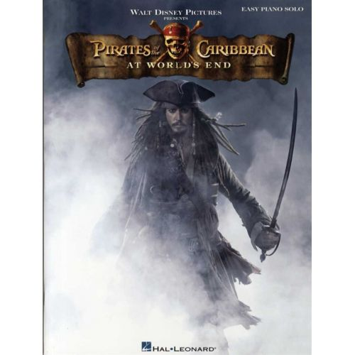 HAL LEONARD PIRATES OF THE CARIBBEAN AT WORLD'S END EASY PIANO SOLO - PIANO SOLO