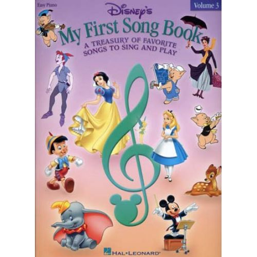 HAL LEONARD DISNEY MY FIRST SONG BOOK EASY PIANO VOL.3