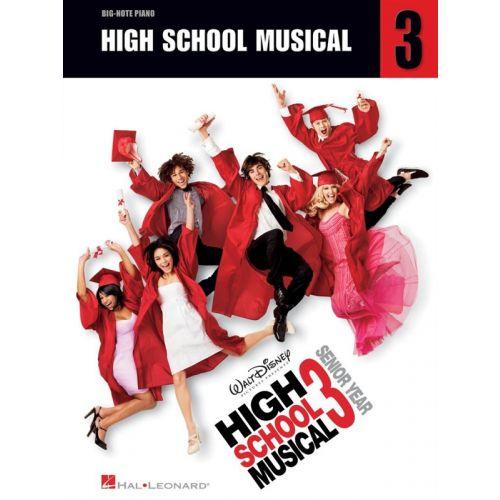 HAL LEONARD HIGH SCHOOL MUSICAL 3 - BIG-NOTE - PIANO SOLO