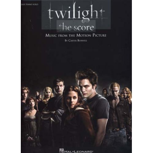 HAL LEONARD TWILIGHT MUSIC FROM THE MOTION PICTURE EASY PIANO SOLO