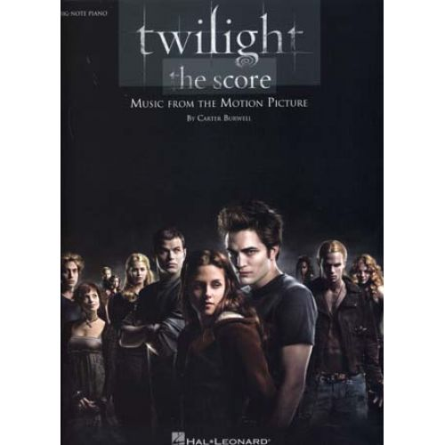 HAL LEONARD TWILIGHT MUSIC FROM THE MOTION PICTURE BIG-NOTE PIANO