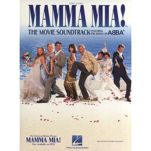 UNIVERSAL MUSIC PUBLISHING ABBA MAMMA MIA! THE MOVIE SOUNDTRACK - PIANO SOLO
