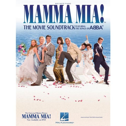 HAL LEONARD MAMMA MIA! THE MOVIE SOUNDTRACK FEATURING THE SONGS OF ABBA BIG NOT - PIANO SOLO