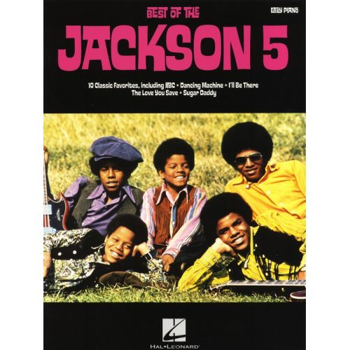 HAL LEONARD BEST OF THE JACKSON 5 EASY PIANO SONGBOOK - PIANO SOLO