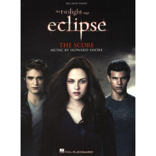 HAL LEONARD TWILIGHT ECLIPSE MUSIC FROM THE FILM SCORE BIG NOTE - PIANO SOLO