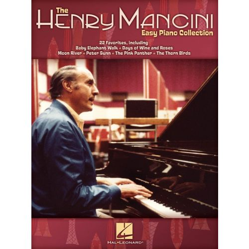 HAL LEONARD MANCINI HENRY THE EASY PIANO COLLECTION - PIANO SOLO