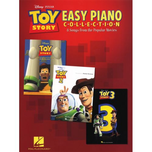 HAL LEONARD THE TOY STORY EASY PIANO COLLECTION 8 SONGS FROM MOVIES - PIANO SOLO