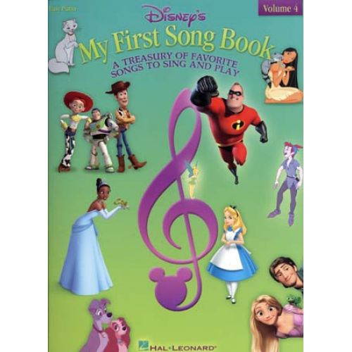 HAL LEONARD DISNEY MY FIRST SONG BOOK EASY PIANO VOL.4