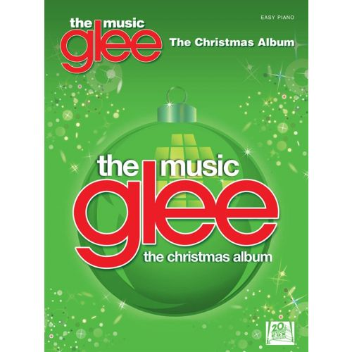 HAL LEONARD GLEE THE MUSIC THE CHRISTMAS ALBUM EASY PIANO SONGBOOK - PIANO SOLO