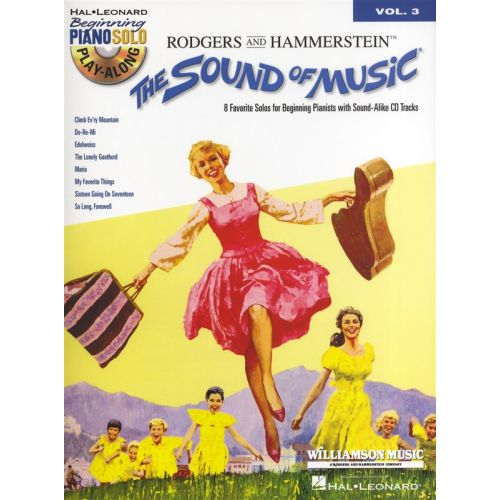 HAL LEONARD PIANO SOLO PLAY ALONG VOLUME 3 THE SOUND OF MUSIC + CD - PIANO SOLO
