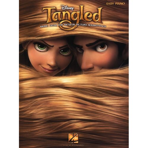 HAL LEONARD TANGLED MUSIC FROM THE MOTION PICTURE SOUNDTRACK EASY - PIANO SOLO