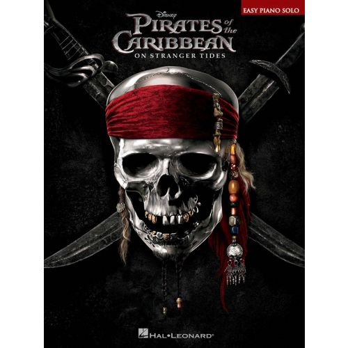 HAL LEONARD PIRATES OF THE CARIBBEAN ON STRANGER TIDES EASY PIANO SONGBOOK - PIANO SOLO