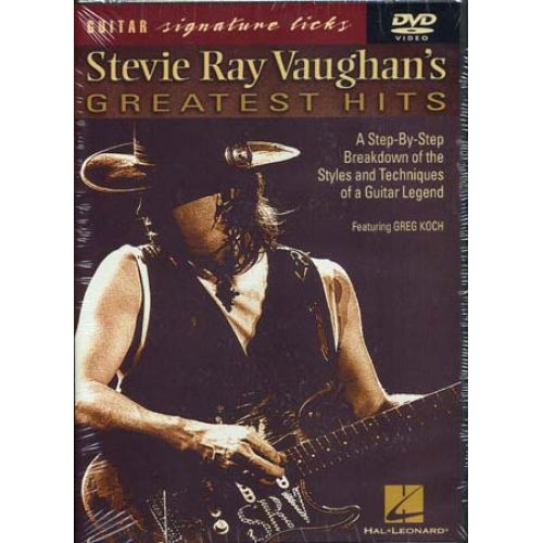 HAL LEONARD VAUGHAN STEVIE RAY - GREATEST HITS - GUITARE