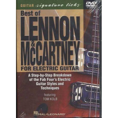 HAL LEONARD LENNON JOHN/MC CARTNEY PAUL - BEST OF - ELECTRIC GUITAR