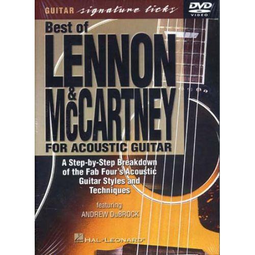 HAL LEONARD LENNON JOHN / MCCARTNEY PAUL - ACOUSTIC GUITAR