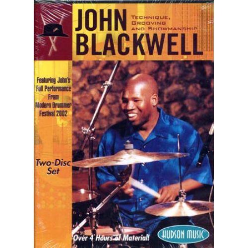 HAL LEONARD BLACKWELL JOHN - GROOVE SHOWMAN