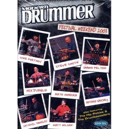 HAL LEONARD MODERN DRUMMER FESTIVAL 2003 2 - BATTERIE
