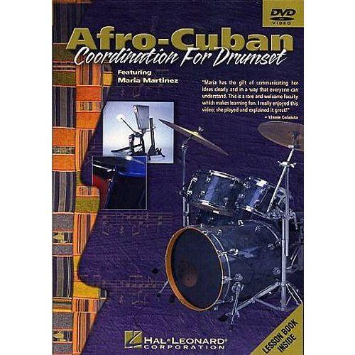 HAL LEONARD MARTINEZ MARIA - AFRO CUBAN COORDINATION - DRUMSET