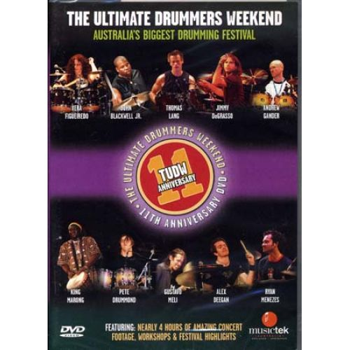 HAL LEONARD ULTIMATE DRUMMER WEEKEND 11TH