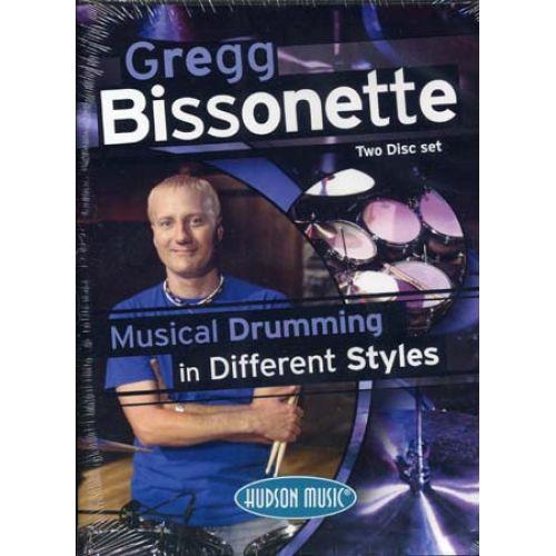 HAL LEONARD BISSONETTE GREGG - MUSICAL DRUMMING 2 s