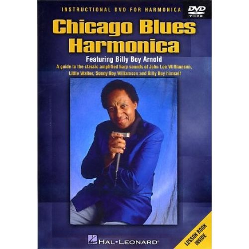 HAL LEONARD CHICAGO BLUES HARMONICA - HARMONICA