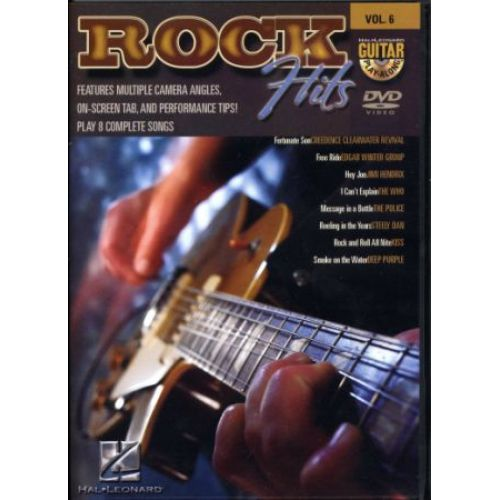 HAL LEONARD GUITAR PLAY ALONG VOL.6 - ROCK HITS