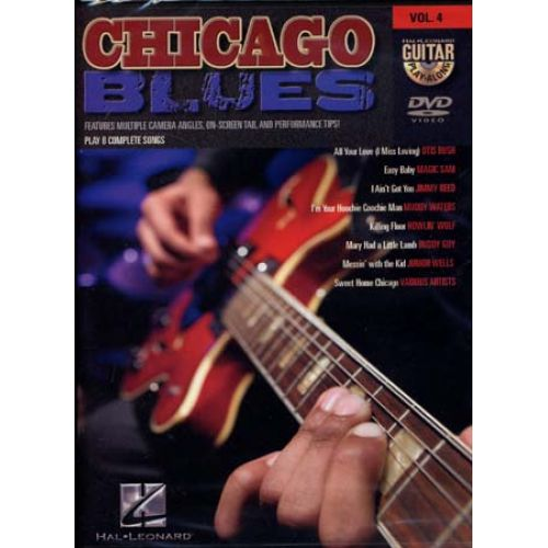 HAL LEONARD GUITAR PLAY ALONG VOL.4 - CHICAGO BLUES